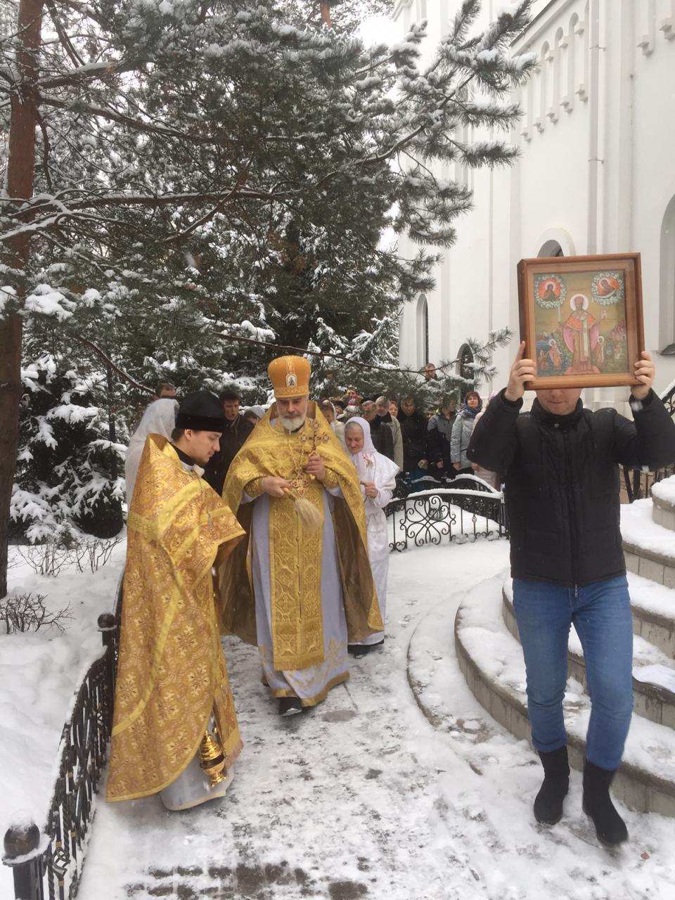 Престольный праздник Святителя и Чудотворца Николая. 19.12.2018. post thumbnail image